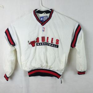 Chicago Bulls Basketball Starter Pullover Jacket